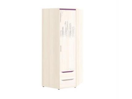 Шкаф для одежды угловой (правый) Мегаполис 55.03 Сосна Астрид