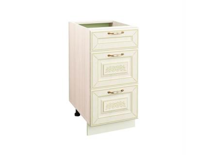 Стол кухонный (3 ящика с системой плавного закрывания) Оливия 71.90