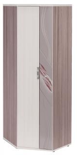 Шкаф для одежды угловой универсальный Лаура 38.02 (Э)