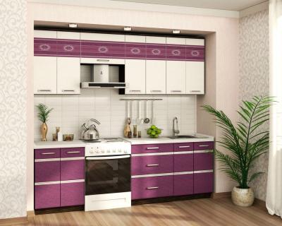 Кухонный гарнитур прямой (240 см) Палермо 8 Набор 9