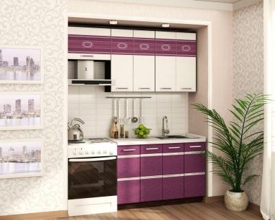 Кухонный гарнитур прямой (180 см) Палермо 8 Набор 6
