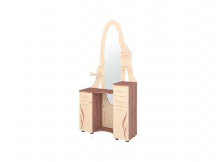 Столик туалетный Орхидея-3.11 Ясень Шимо-Перламутр
