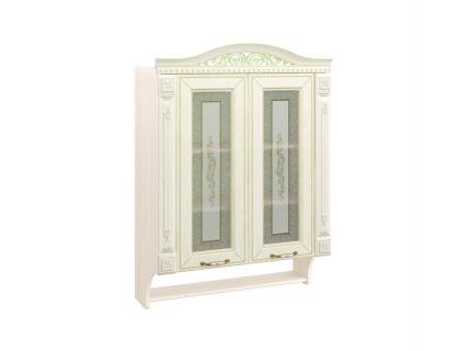 Шкаф-витрина кухонный с колоннами Оливия 71.15
