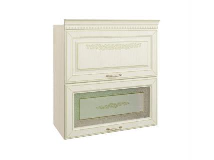Шкаф-витрина кухонный (с системой плавного закрывания) Оливия 71.81