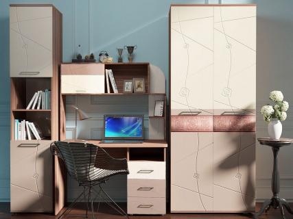 Набор подростковой мебели Розали-9