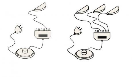 Комплект светильников Ксв1+Ксв 3