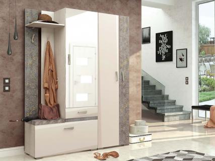 Набор мебели для прихожей Фреска 10 (ширина 160 см)