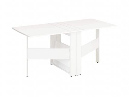 Стол-книжка Колибри-12.2 Белый шпон