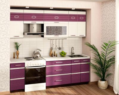 Кухонный гарнитур прямой (240 см) Палермо 8 Набор 10