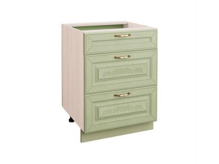 Стол кухонный (3 ящика с метабоксами) Оливия 72.66
