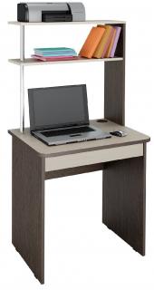 Стол компьютерный Фортуна 37 дуб венге,дуб кобург