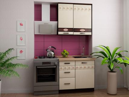 Кухня 2,2х1,9 метра (выставочный образец) Аврора 10 Набор 3