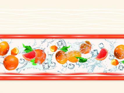 Стеновая панель высокоглянцевая СП 08 Оранж