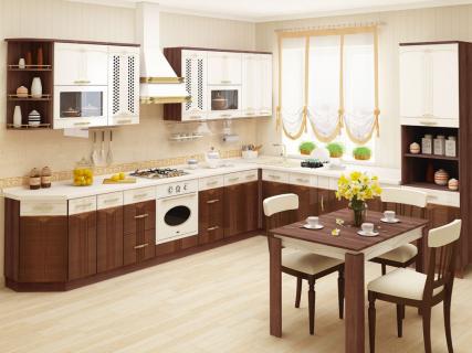 Кухня угловая Каролина-1