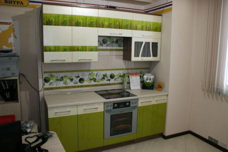 Кухонный гарнитур прямой Тропикана 2000 мм